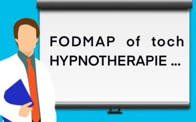 Fodmap of Hypnotherapie bij PDS.